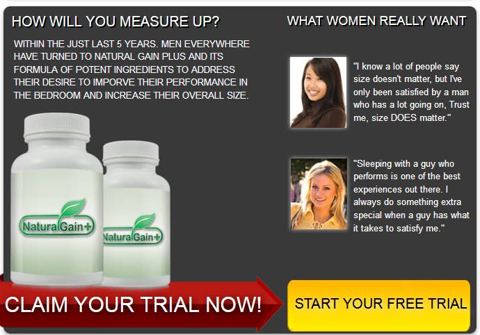 Natural Gain Plus South Africa Review Price Side Effects